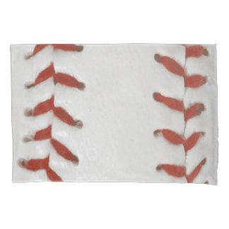 Housse D'oreillers Arrière - plan de motif d'impression du base-ball