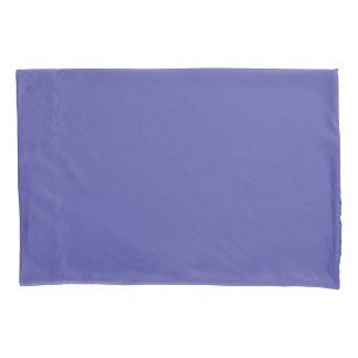 Housse D'oreillers Bleu riche et rose de canneberge