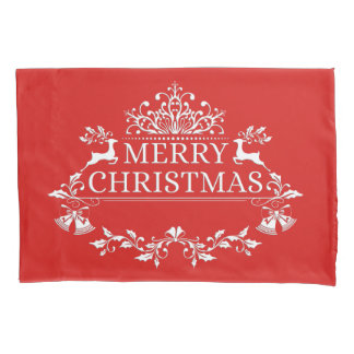 Housse D'oreillers Caisse de coussin de Joyeux Noël