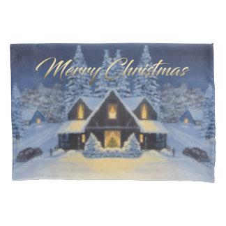 Housse D'oreillers Caisse de coussin de Noël