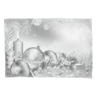 Housse D'oreillers Caisse de coussin de nouvelle année de Monocrome