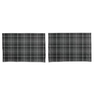 Housse D'oreillers Caisses modernes blanches noires grises de coussin