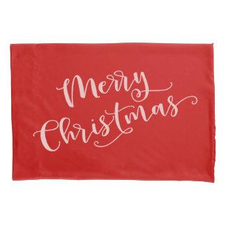 Housse D'oreillers Joyeux Noël