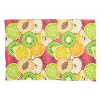 Housse D'oreillers Motif coloré de fruit d'amusement