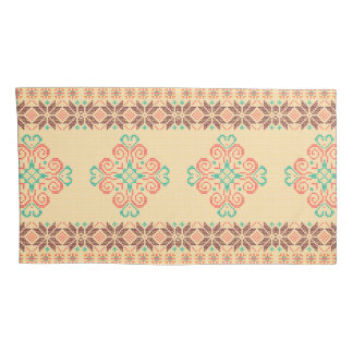 Housse D'oreillers Motif tricoté par Noël