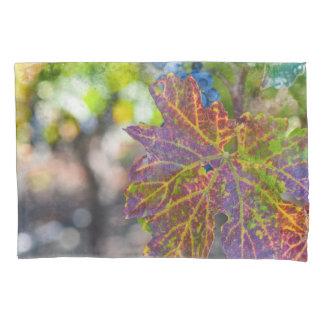 Housse D'oreillers Vigne pendant la saison d'automne