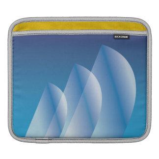 Housse iPad Ciel bleu translucide de Tri Voile