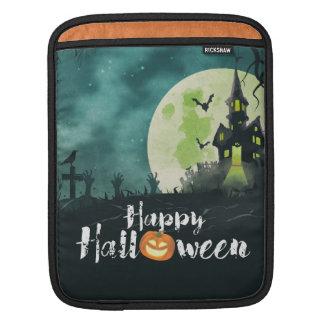 Housse iPad Ciel nocturne hanté éffrayant Halloween de costume