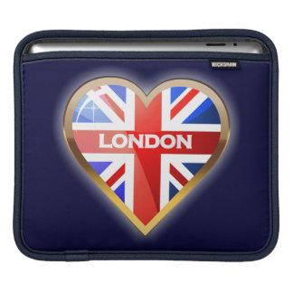 Housse iPad Coeur anglais