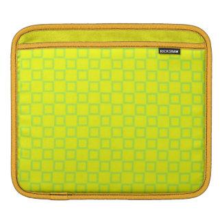 Housse iPad Douille classique de Rickshaw de vert jaune
