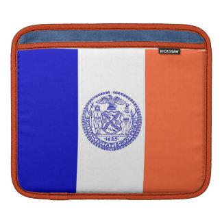 Housse iPad Douille de Rickshaw de drapeau de New York City