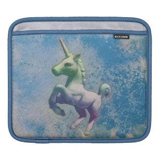 Housse iPad Douille d'iPad de licorne (Arctique bleu)