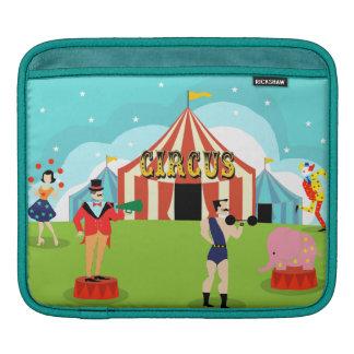 Housse iPad Douille vintage d'iPad de cirque
