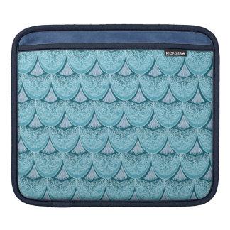 Housse iPad Échelles bleues de sirène, boho, hippie, de Bohème