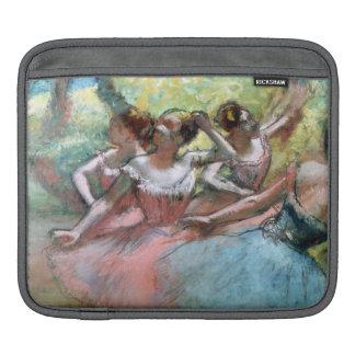 Housse iPad Edgar Degas | quatre ballerines sur l'étape
