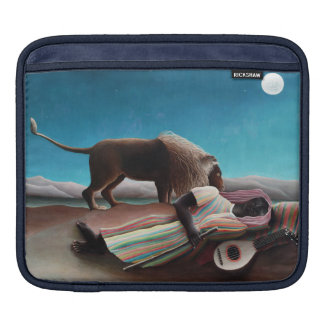 Housse iPad Henri Rousseau le cru gitan de sommeil