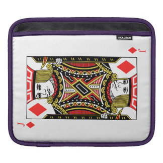 Housse iPad Jack des diamants