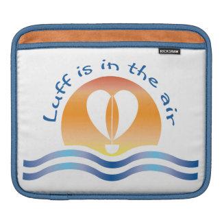 Housse iPad Luffers Sunset_Luff est dans l'air_blue sur le
