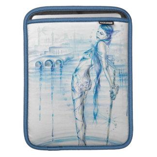 Housse iPad Madame du lac