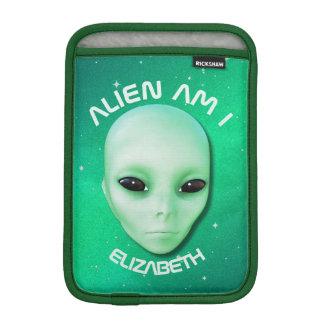 Housse iPad Mini L'alien suis moi verdissent le visage étranger