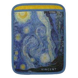 Housse iPad Nuit étoilée Vincent van Gogh personnalisé