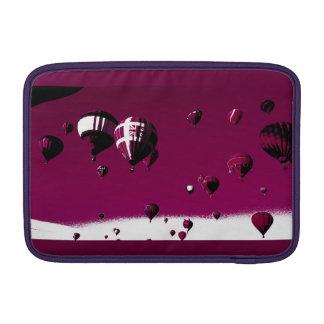 """Housse Macbook Air Douille chaude pourpre 11"""" de Macbook de ballon à"""