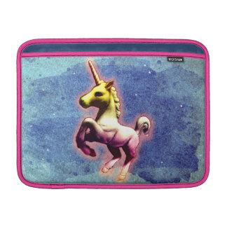 Housse Macbook Air Douille d'air de Macbook de licorne (miroitement