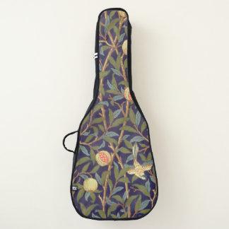 Housse Pour Guitare Cru d'oiseau et de grenade de William Morris