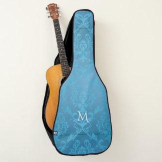 Housse Pour Guitare Damassé fascinante moderne vintage de turquoise