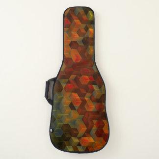 Housse Pour Guitare Électrique de cool orange de cube ou acoustique