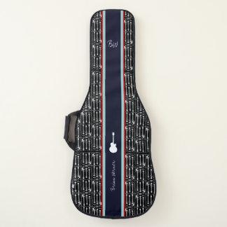Housse Pour Guitare guitare-motif avec le nom de guitariste. un cool