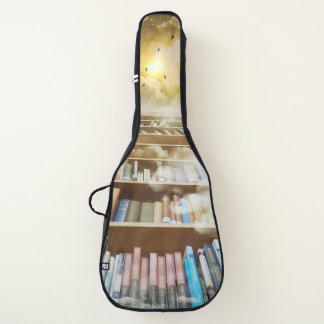Housse Pour Guitare Livres et escalier de graphiques d'imaginaire au