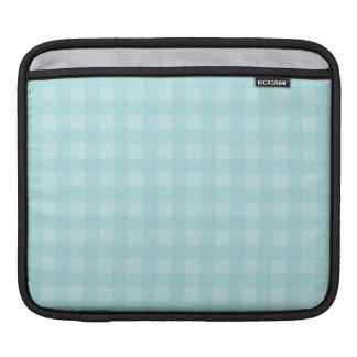 Housse Pour iPad Arrière - plan Checkered de motif de rétro guingan