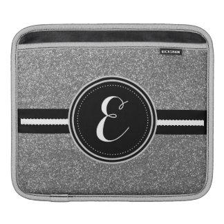 Housse Pour iPad Caisse personnalisée par scintillement argenté de