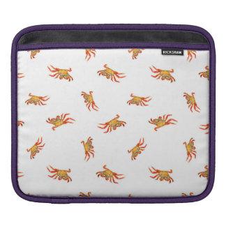 Housse Pour iPad Conception de motif de collage de photo de crabes