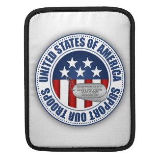 Housse Pour iPad Couverture d'iPad de garde nationale/douille de