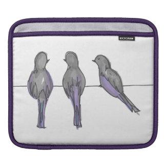 Housse Pour iPad Couverture d'iPad de trois copains de pigeon