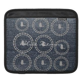 Housse Pour iPad Douille bleue fraîche d'iPad d'oiseau d'argent de