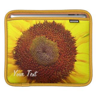 Housse Pour iPad Douille de Centre-iPad de tournesol, horizontale