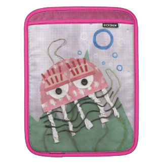 Housse Pour iPad Douille de Je-Protection de peigne de méduses
