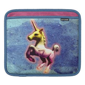 Housse Pour iPad Douille d'iPad de licorne (miroitement de galaxie)