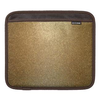 Housse Pour iPad Douille horizontale d'or d'iPad d'art abstrait de