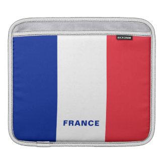 Housse Pour iPad Douilles d'iPad de drapeau de la France