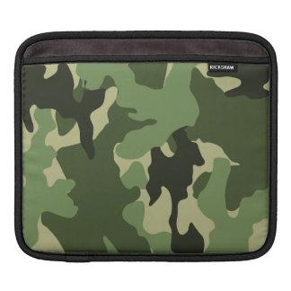 Housse Pour iPad Douilles militaires d'iPad de motif vert frais de