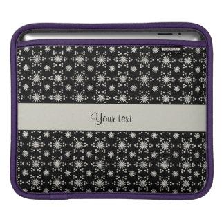 Housse Pour iPad Étoiles argentées scintillantes étincelantes de