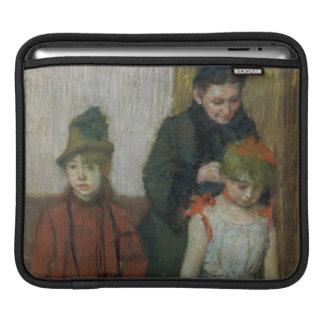 Housse Pour iPad Femme d'Edgar Degas | avec deux petites filles
