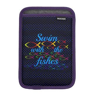 Housse Pour iPad Mini Bain avec les poissons