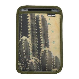 Housse Pour iPad Mini Cactus vert sur l'arrière - plan jaune