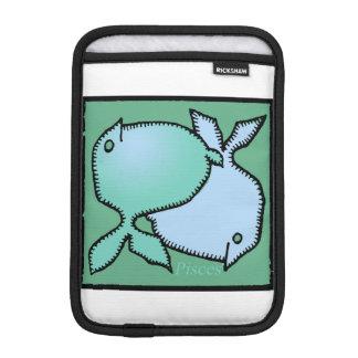 Housse Pour iPad Mini Douille faite sur commande de Poissons R de signe