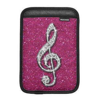 Housse Pour iPad Mini Note scintillante étincelante imprimée de musique